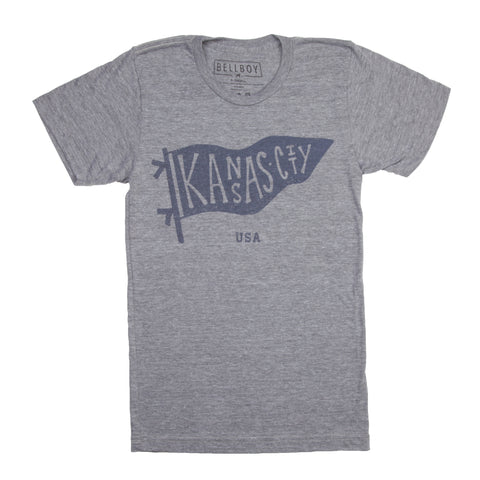 x KIDS | KC PENNANT GREY