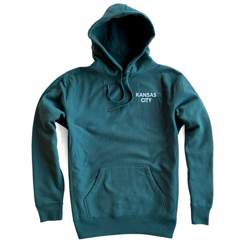 SIMPLE KC HOODIE - ALPINE GREEN