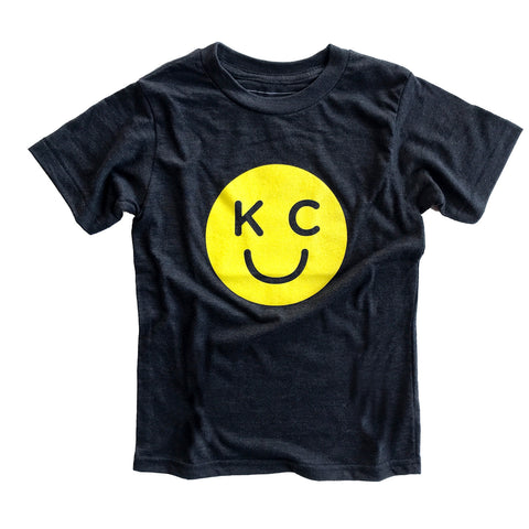 x KIDS KC SMILEY | CHARCOAL