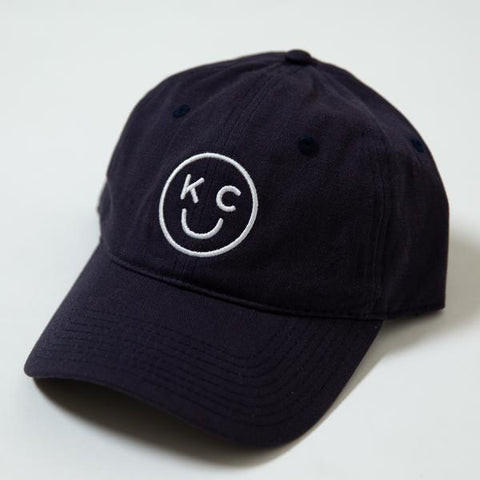 xx KC SMILEY HAT | NAVY