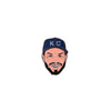 x PIN | KC ICON HOZ