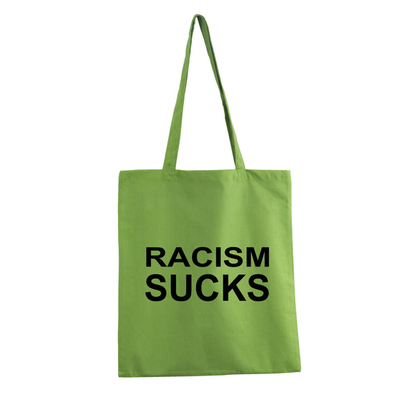 RACISM PROMO TOTE BAG GET2WEAR GREEN