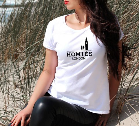 HOMIES LONDON  WOMEN'S T-SHIRT - Get2wear
