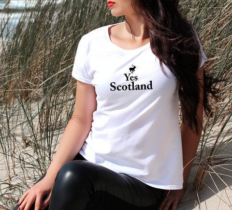 YES SCOTLAND Women's T-Shirt - Get2wear