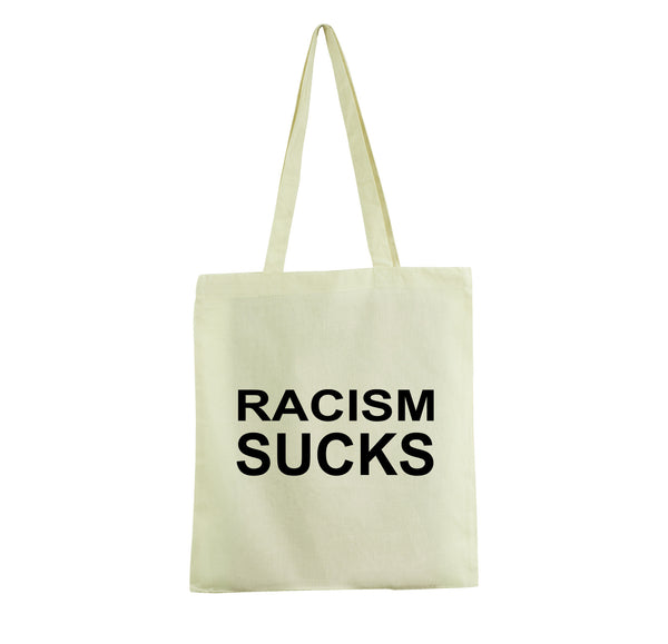 RACISM PROMO TOTE BAG GET2WEAR WHITE