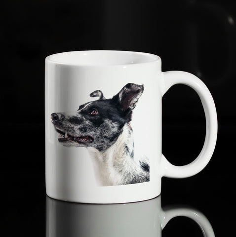 DOG DESIGN 11OZ CERAMIC MUG GET2WEAR