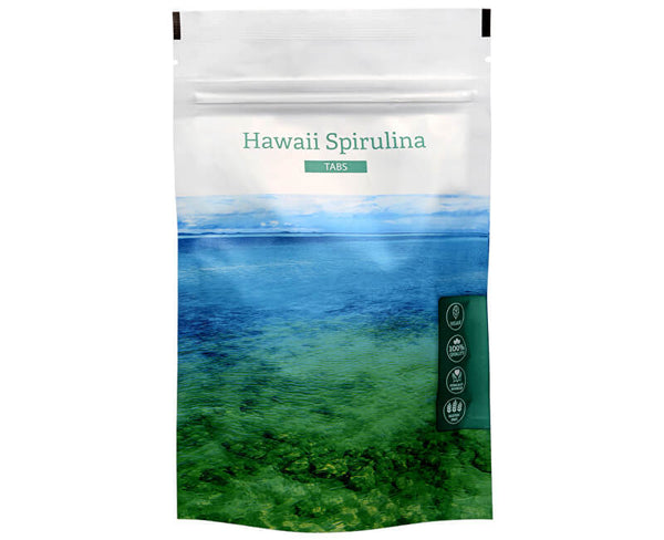 Hawaii Spirulina alga Tabletta