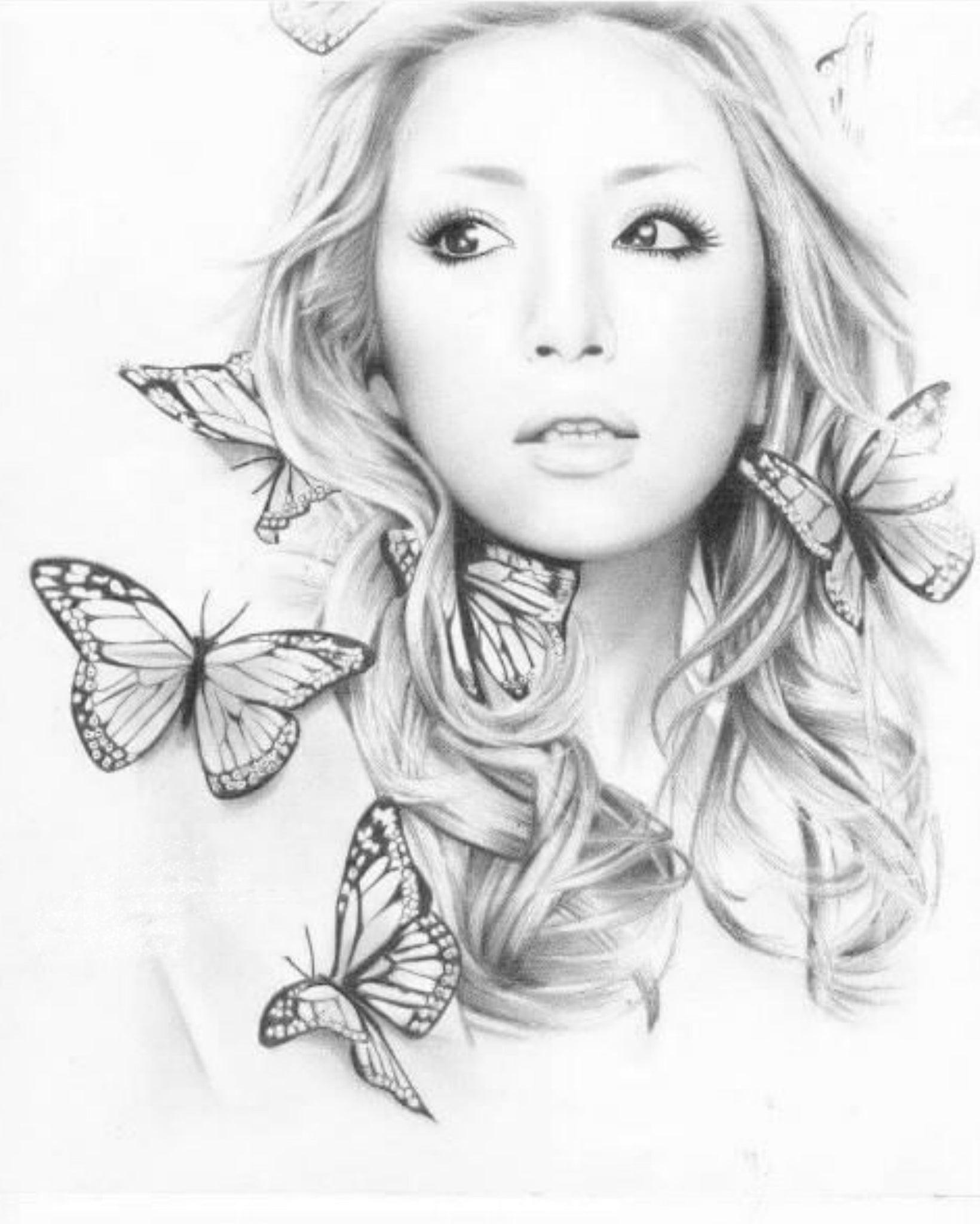 Enchanted Butterfly Portrait