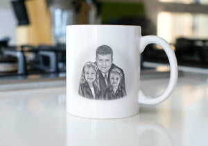 Your portrait on 11oz mug