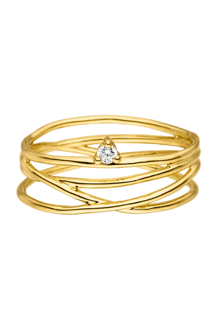 Paul Valentine Rings Gold Plated