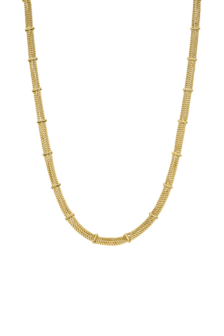 PV Necklace 18k Gold Plated
