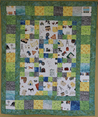 Country Squares pattern