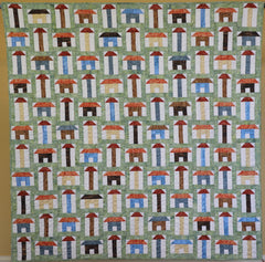 About Town Full House pattern Gourmet Quilter
