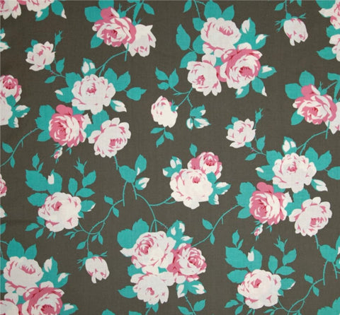 Rose Vine, Chloe by Tanya Whelan, 1/2 yd