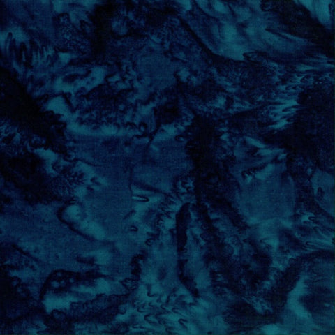 REMNANT - 1895 Midnight 1895-128 Bali Batik, 4 inches