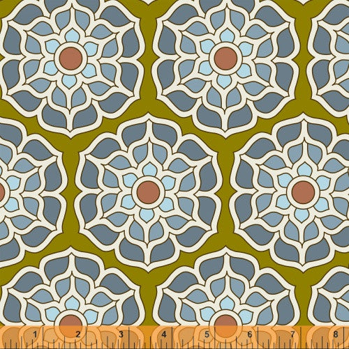 Float in Silt, Cascade Collection from Jessica Levitt for WIndham Fabrics, 1/2 yd