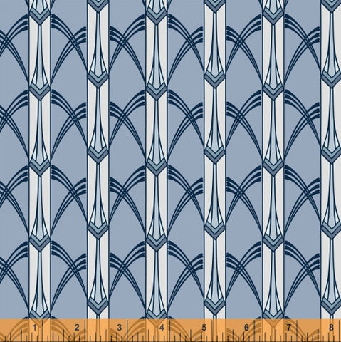 Ice Cascade, Cascade Collection from Jessica Levitt for WIndham Fabrics, 1/2 yd