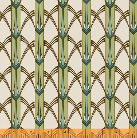 Marsh Cascade, Cascade Collection from Jessica Levitt for WIndham Fabrics, 1/2 yd