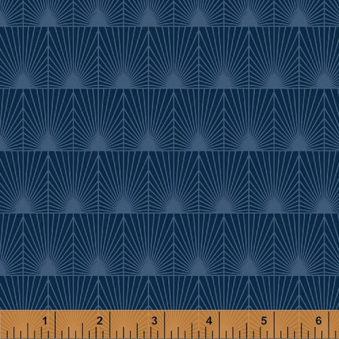 Midnight Splash, Cascade Collection from Jessica Levitt for WIndham Fabrics, 1/2 yd