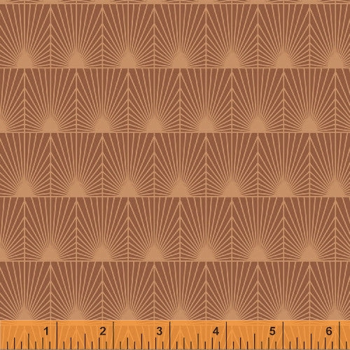 Clay Splash, Cascade Collection from Jessica Levitt for WIndham Fabrics, 1/2 yd