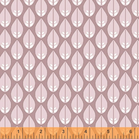 Glisten in Mauve, Cascade Collection from Jessica Levitt for WIndham Fabrics, 1/2 yd