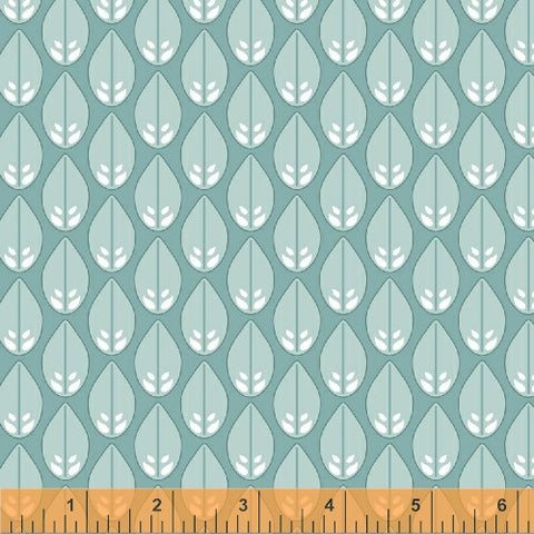 Glisten in Sea Foam, Cascade Collection from Jessica Levitt for WIndham Fabrics, 1/2 yd