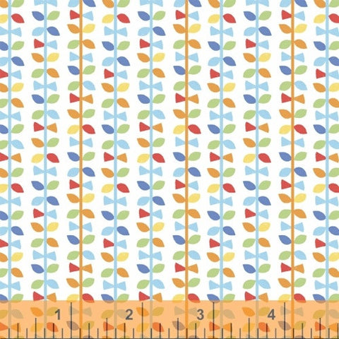 Multi Up Down Vines, Mother Goose Tales from Jill McDonald for WIndham Fabrics, 1/2 yd