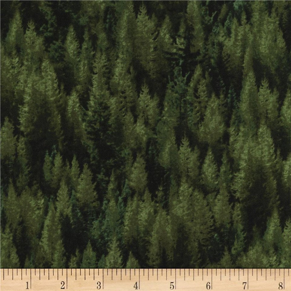 Reclaimed West Collection PINES N-C2905 by Judy Neimeyer for Timeless Treasure, 1/2 yd