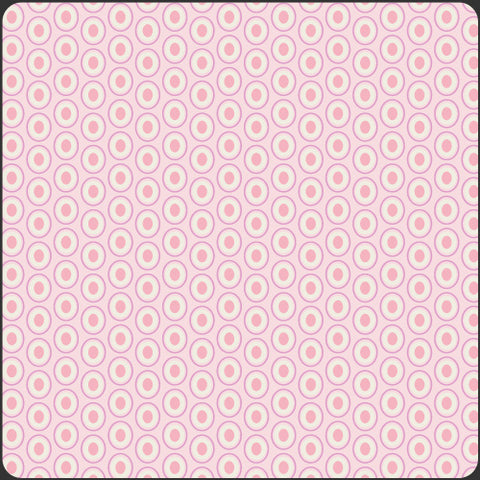 Art Gallery ELEMENTS Ovals Petal Pink by Pat Bravo, 1/2 yd