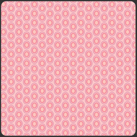 Art Gallery ELEMENTS Ovals - Parfait Pink OE-922 by Pat Bravo, 1/2 yd
