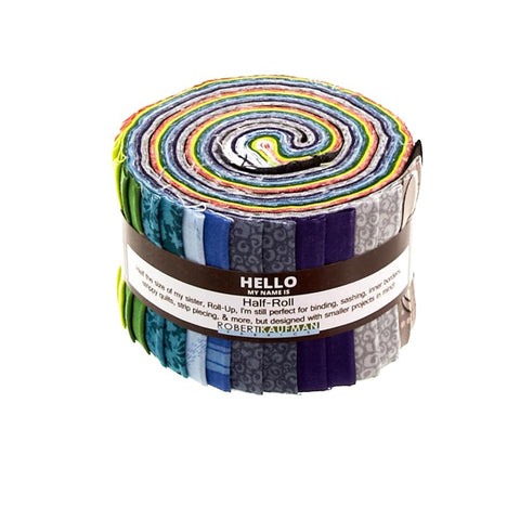 "Blueprint Basics Winter Colorstory HALF ROLL 2.5"" by Valori Wells for Robert Kaufman"