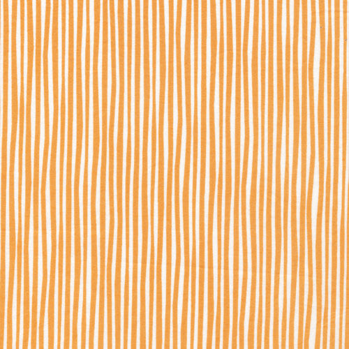 ORGANIC Simpatico Straws in Peachy from Cloud 9 Fabrics, 1/2 yd