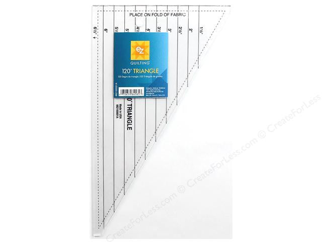 EZ Quilting 120 Degree Triangle Ruler