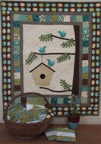 Feathered Nest quilt pattern