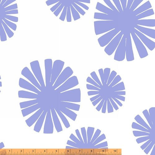 Mickel in Periwinkle, Follie Collection from Lotta Jansdotter for WIndham Fabrics, 1/2 yd