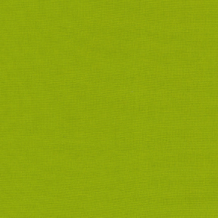 Kona cotton LIME K001-1192 fabric from Robert Kaufman, 1/2 yd