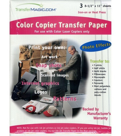 Transfer Magic Color Copier Transfer Paper