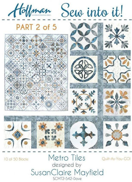 Metro Tiles - Quilt-As-You-Go Kit #2 of 5