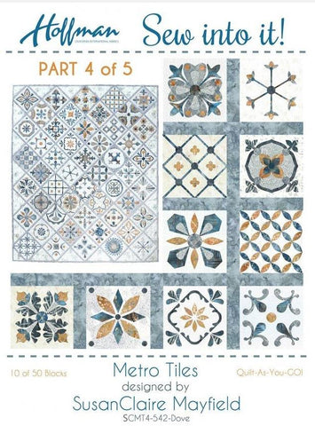 Metro Tiles - Quilt-As-You-Go Kit #4 of 5