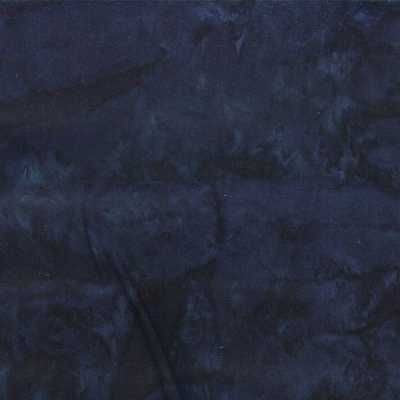 Midnight - Hoffman 1895 Hand Dyed Batik Fabric, 1/2 yd