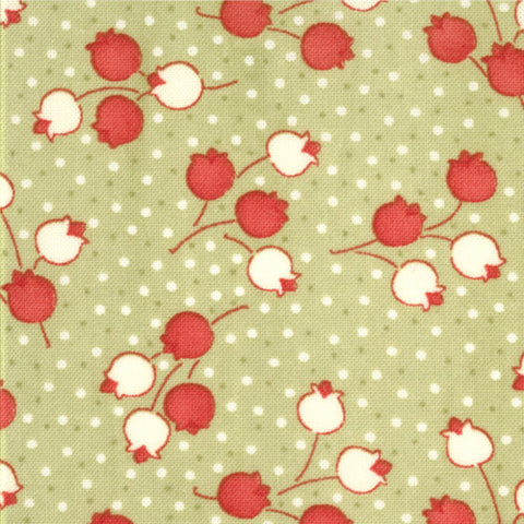vintage christmas colors bliss 55025 by bonnie camille for moda - Vintage Christmas Fabric