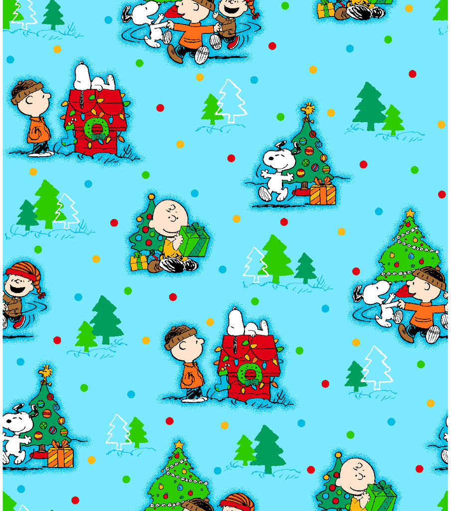 Peanuts Christmas FAT QUARTER SET