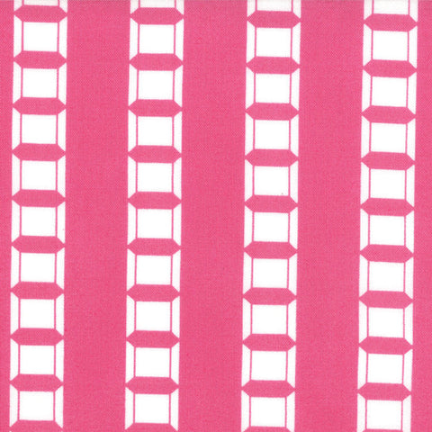 Cotton Reels on Pink from Sew Stitchy by Aneela Hoey for Moda, 1/2 yard