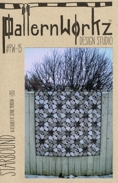 PatternWorkz PW-15 STARBOUND quilt pattern (3 sizes)