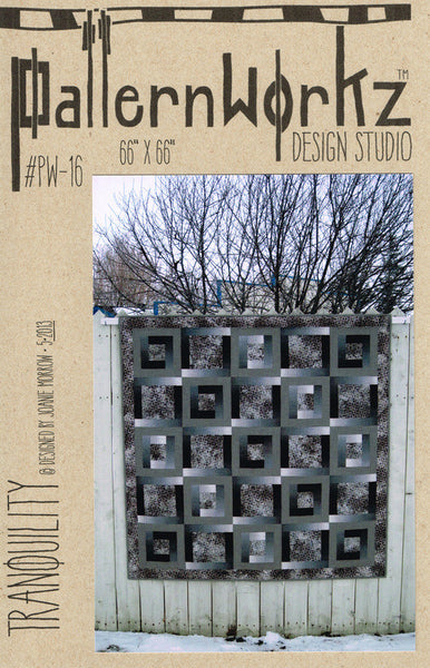 "PatternWorkz PW-16 TRANQUILITY quilt pattern 66""x66"""