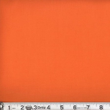 AB45 Amy Butler ORANGE cotton fabric from Rowan, 1/2 yd