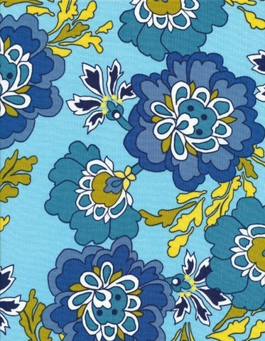 BERKELEY #C6517 by Alice Kennedy for Timeless Treasures, 1/2 yard