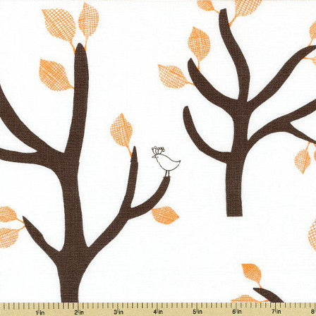 BELLA Tree in Orange from Lotta Jansdotter for WIndham Fabrics, 1/2 yd
