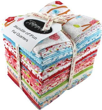 LOVEBIRDS Fat Quarter Bundle 29 pieces by Patrick Lose