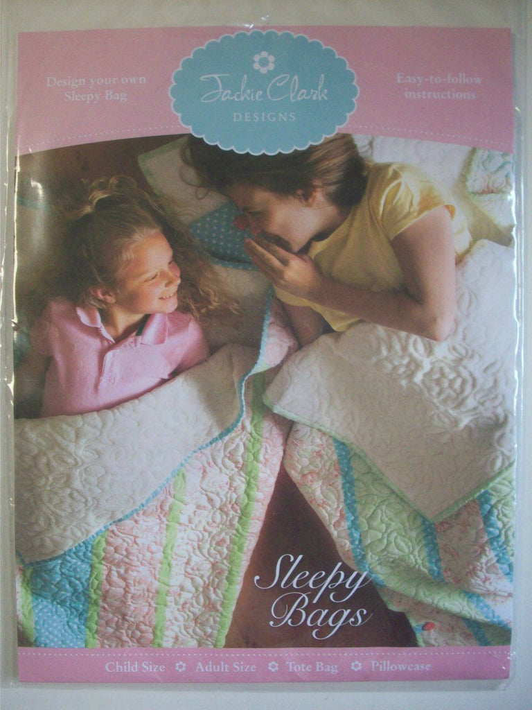 Sleepy Bags PATTERN by Jackie Clark